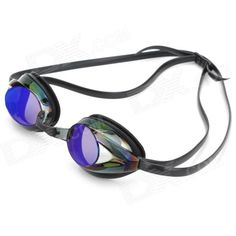 Material: polycarbonate lens, silicone frame and strap - Anti-fog and impact-resistant - Silicone strap can be adjustable - Includes 2 x nose bridges and 1 x carrying case http://j.mp/1uOwBcX