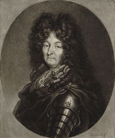 Portrait of Louis XIV of France  by Bernard