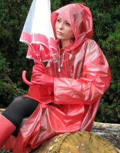 Sie wartet sehnsüchtig auf Regen