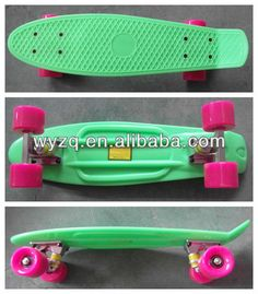 penny skateboard with diamond squares pattern/penny skateboard with led $1~$29