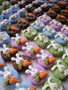 ,omGEE!....this cluster of clay cuties are...well, just that...CUTE!!!.....