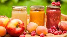 Jablečná přesnídávka krok po kroku: Bez cukru a zahušťovadel Food Storage, Pesto, Cantaloupe, Plum, Homemade, Canning, Fruit, Vegetables, Baby