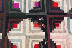 Log Cabin Quilt   Collector Quilts   Log Cabin Quilt from Jen Jones Welsh Quilts & Blankets