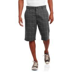 Faded Glory Men's Walk Shorts, Size: 36, Gray