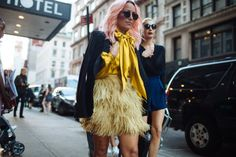 NEW YORK FASHION WEEK SPRING 2016 STREET STYLE • WMN ISSUE