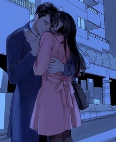 Cute Couple Art, Anime Love Couple, Manga Couple, Couple Cartoon, Anime Couples Manga, Anime Guys, Photo Zen, Photo D Art, Romantic Anime Couples