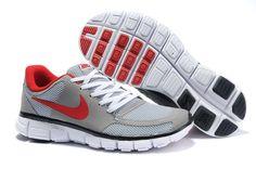size 40 c0691 ebf2e Nike Free 7.0 V2 Mens Grey red Nike Free Run 3, Nike Free Shoes,