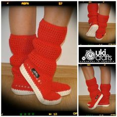 Crochet Boots Crochet Knitted Shoes adult Outdoor Boots for the Street Folk Tribal Boho s hippie Made to Order pattern crochet cuffs Summer Boots, Crochet Boots, Knit Shoes, Outdoor Outfit, Arm Warmers, Lana, Etsy, Folk, Baby Shoes