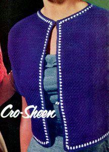 Crocheted Jacket | Crochet Patterns