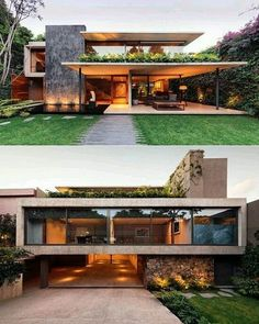 Modern house design - An Atmospheric Approach To Modernist Architecture In Mexico – Modern house design Amazing Architecture, Contemporary Architecture, Interior Architecture, Modern Interior, Contemporary Houses, Contemporary Design, Architecture House Design, Big Modern Houses, Interior Office