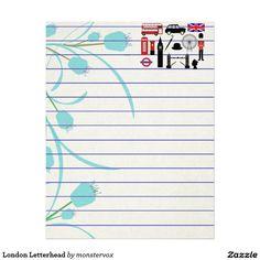 London Letterhead #London #England #UnitedKingdom #Britain #LetterHead