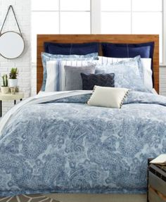 Tommy Hilfiger Canyon Paisley Comforter and Duvet Cover Sets | macys.com