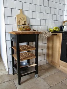 STENSTORP IKEA, butcher block, kitchen kart,