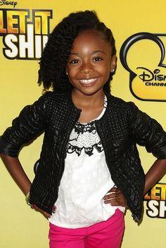 true jackson when she was a kid | Skai Jackson - Kids hairstyles