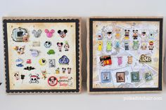 Finally a cute way to display my pins rather than the giant cork boards <3