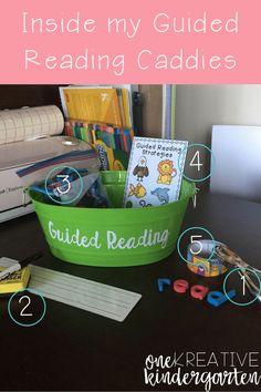 DIY: Guided Reading Caddies