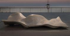 Top Ten Concrete, Landscape Forms, Outdoor furniture, concrete furniture