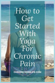 Yoga can help people with chronic pain conditions such as fibromyalgia, arthritis, low back pain, multiple sclerosis to find pain relief and relaxation. Learn how to get started practicing yoga for chronic pain. Chronic Pain, Fibromyalgia, Chronic Illness, Iyengar Yoga, Ashtanga Yoga, Pilates Reformer, Pilates Yoga, Health Routine, Restorative Yoga