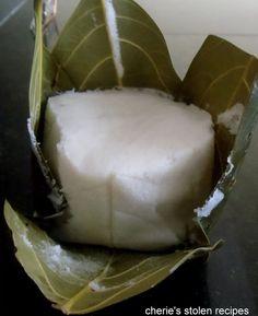Gunda -idli in jackfruit leaves
