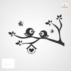 Mooie stickers en sjablonen voor de kinderkamer