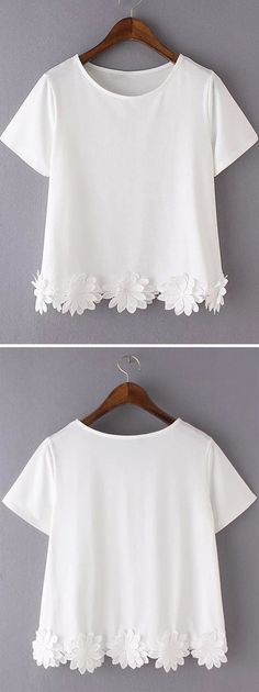 This Flowers top is perfect to throw over any outfit to stay comfortable while still looking beautiful. Pair this top with a colorful tank top, bandeau, or bikini top that can peek out from underneath the crochet material. Pair it with cropped jeans or shorts for a look that's perfect whether you're at the beach or out on an adventure.