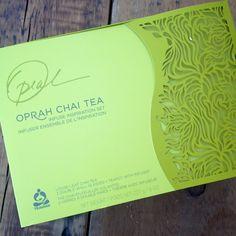 Oprah Chai Tea Giveaway!