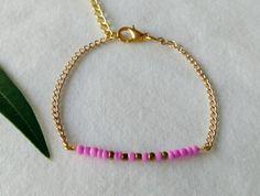 petit bracelet fin aux couleurs acidulées