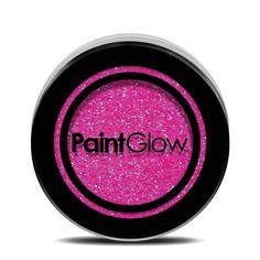 PaintGlow Neon UV Glitter Shaker 5g - Candy Pink