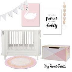 Pretty Pink Nursery Moodboard