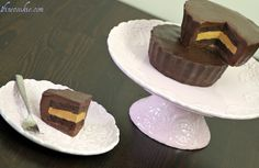 make my own Peanut Butter Cup Cake