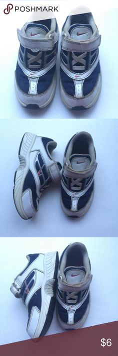 Nike shoes Size 9.5 show lots of wear freshly hand washed and ready for play Nike Shoes