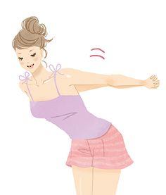 肩甲骨はがしは、肩周りをやわらか~くしてくれて、ついでにバストアップも期待できちゃうストレッチ。難しいことは一切なくて、むしろ凝り固まった筋肉を伸ばすのでやみつきになっちゃう人続出。毎日5分、続けられるストレッチや日常に取り入れられる動作を紹介。肩甲骨をやわらくしてバストアップしましょ。