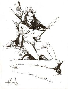 DEJAH THORIS PRINCESS Comic Art
