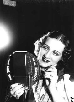 Late Argentinian tango singer Ada Falcon