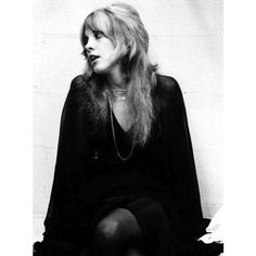 Street Style Before Street Style Stevie Nicks ❤ liked on Polyvore featuring pictures