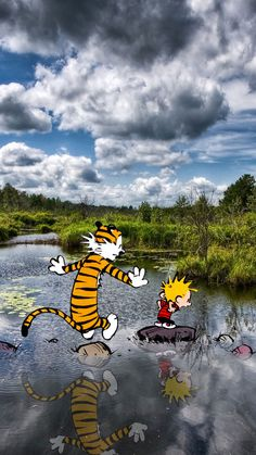 Post with 433 votes and 34048 views. Smartphone Wallpapers - Calvin and Hobbes Calvin Und Hobbes, Best Calvin And Hobbes, Calvin And Hobbes Quotes, Calvin And Hobbes Comics, Calvin And Hobbes Tattoo, Mobile Wallpaper, Iphone Wallpaper, Modern Wallpaper, Iphone Backgrounds