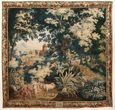 Jupiter and Io tapestry - julia boston antiques