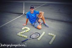 kaleipeytonpictures // boys senior photography // boys tennis photography // senior tennis // class of 2017