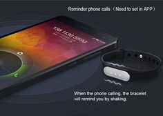 Miband Bluetooth 4.0 Smart Bracelet Watch Sleep Tracking Sports Calls Reminder Alarm for Xiaomi-18.99 and Free Shipping | GearBest.com Mobile