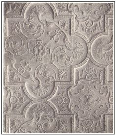 ❤ - Jacobean plaster ceiling at Aston Hall