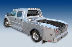RV toters, tow bodies, and RV haulers by Highway Products Truck Tools, Truck Tool Box, Car Hauler Trailer, Rv Trailers, Custom Truck Beds, Custom Trucks, Utility Truck Beds, Flatbed Truck Beds, Ford F550