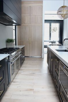 The Forest Modern: Kitchen Q & A - The House of Silver Lining Modern Kitchen Design, Modern Interior Design, Interior Design Kitchen, Interior Decorating, Modern Decor, Interior Architecture, Modern Farmhouse Kitchens, Rustic Kitchen, Home Kitchens