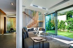 Interior/exterior overflow at a residential house at Head Road 1816 in Cape Town, South Africa by SAOTA