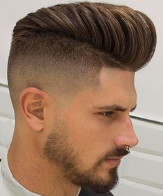 High fade haircut for men