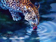 African Leopard by LindsayRapp.deviantart.com  --- fb like and support her art here>>>>>>>>  https://www.facebook.com/pages/Lindsay-Rapp-Art/249472168615  <<<< :)