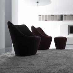 ANDA, Armchairs Designer : Pierre Paulin | Ligne Roset