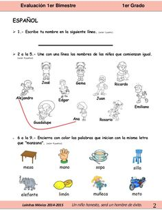 Resultado de imagen para lainitas ejercicios para preescolar