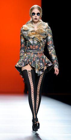 Maria Escote Cibeles Fashion Week 2011 5