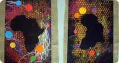 Mickaëlle Delamé: Eveil en arts plastiques: African project
