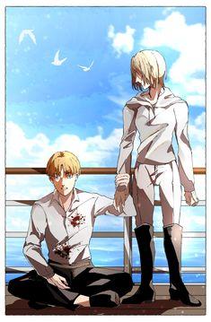 Attack On Titan Fanart, Attack On Titan Ships, Anime Manga, Anime Art, Snk Annie, Aot Armin, Aot Characters, My Hero Academia Manga, Anime Ships